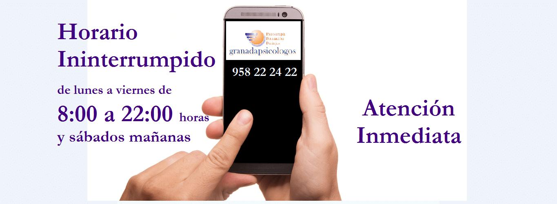 psicologos granada telefono